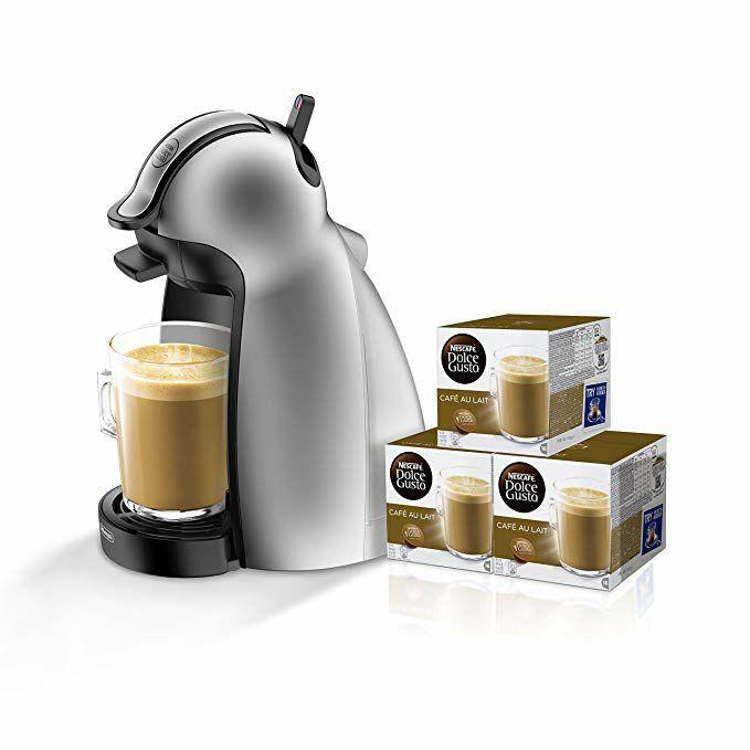Cafetera Dolce Gusto + 48 cápsulas