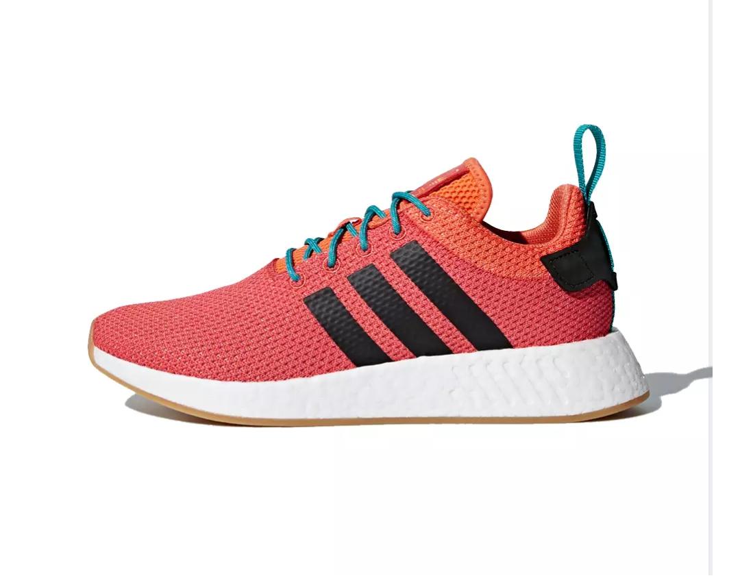 Adidas NMD R2 Summer rojo (enlace en descripción)