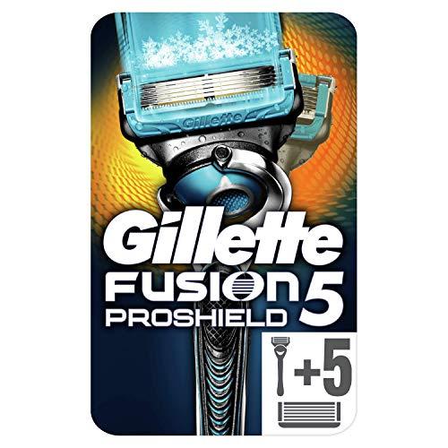 Gillette Fusion ProShield Chill - Maquinilla + 5 recambios