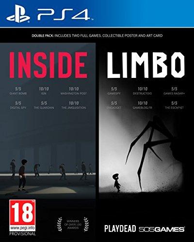 Inside/Limbo Double Pack + poster + tarjeta arte (PS4, físico)