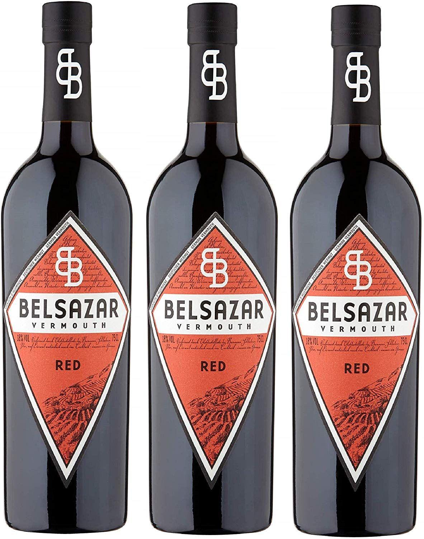 3 botellas de Vermouth Belsazar Red - Total 2250 ml. (también el blanco por el mismo precio)