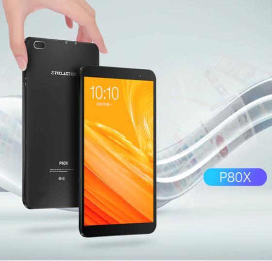 "Teclast P80X 8"" GPS/4G  8core 1,6 GHz 2GB/16GB Tablet Android 9,0 + Tarjeta de 64 GB TF + Cargador"