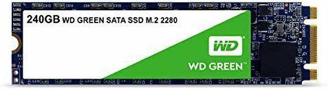 SSD M.2 SATA WD Green 240GB Internal