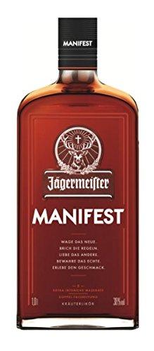 Jägermeister Manifest - Licor de Hierbas Premium, 1.000 ml.