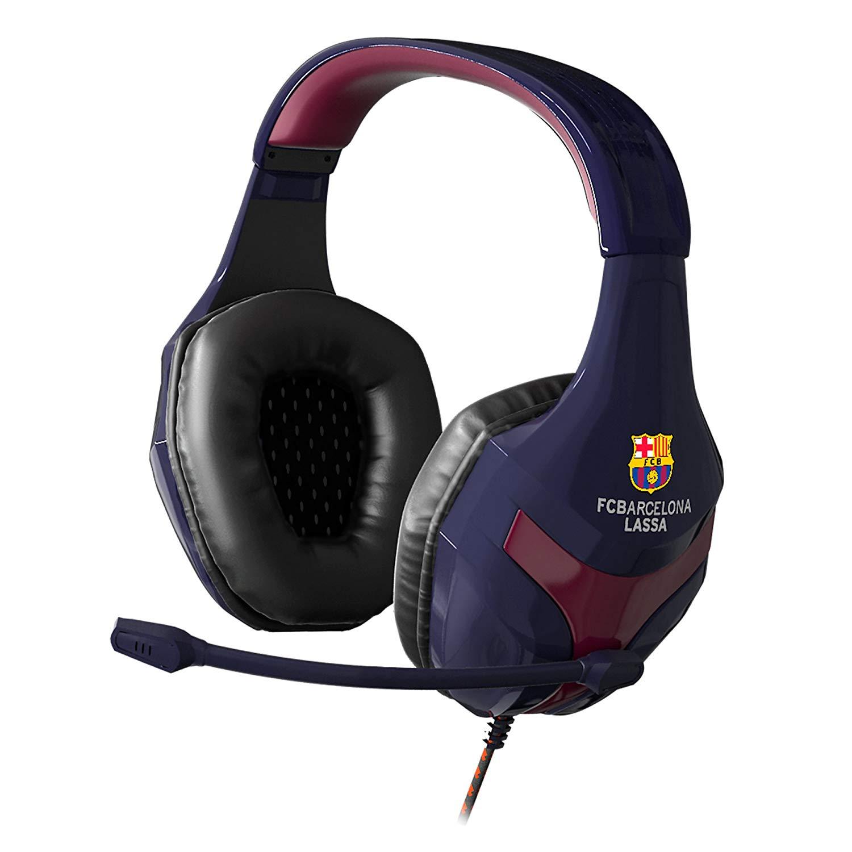 Mars Gaming MHBC - Auriculares del FC Barcelona Lassa, plegable, 40mm neodimio