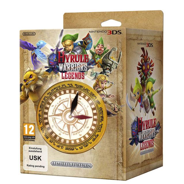 Hyrule warriors 3DS edicion limitada en ECI