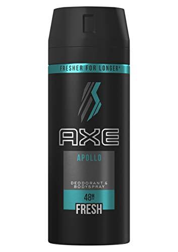 3 x AXE Apollo - Desodorante Bodyspray para hombre