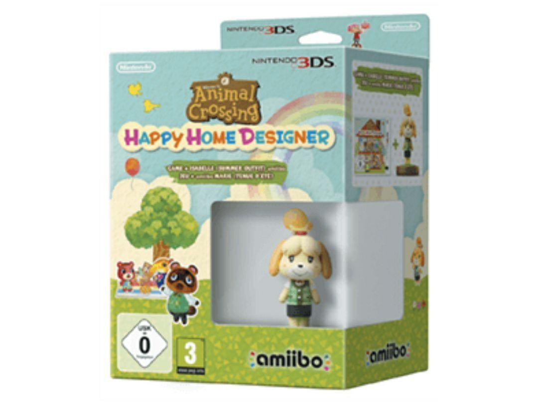 Animal Crossing Happy Home Designer + Amiibo Canela Edición Verano