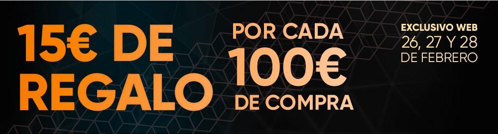 FNAC: 15€ DE REGALO POR CADA 100€ DE COMPRA