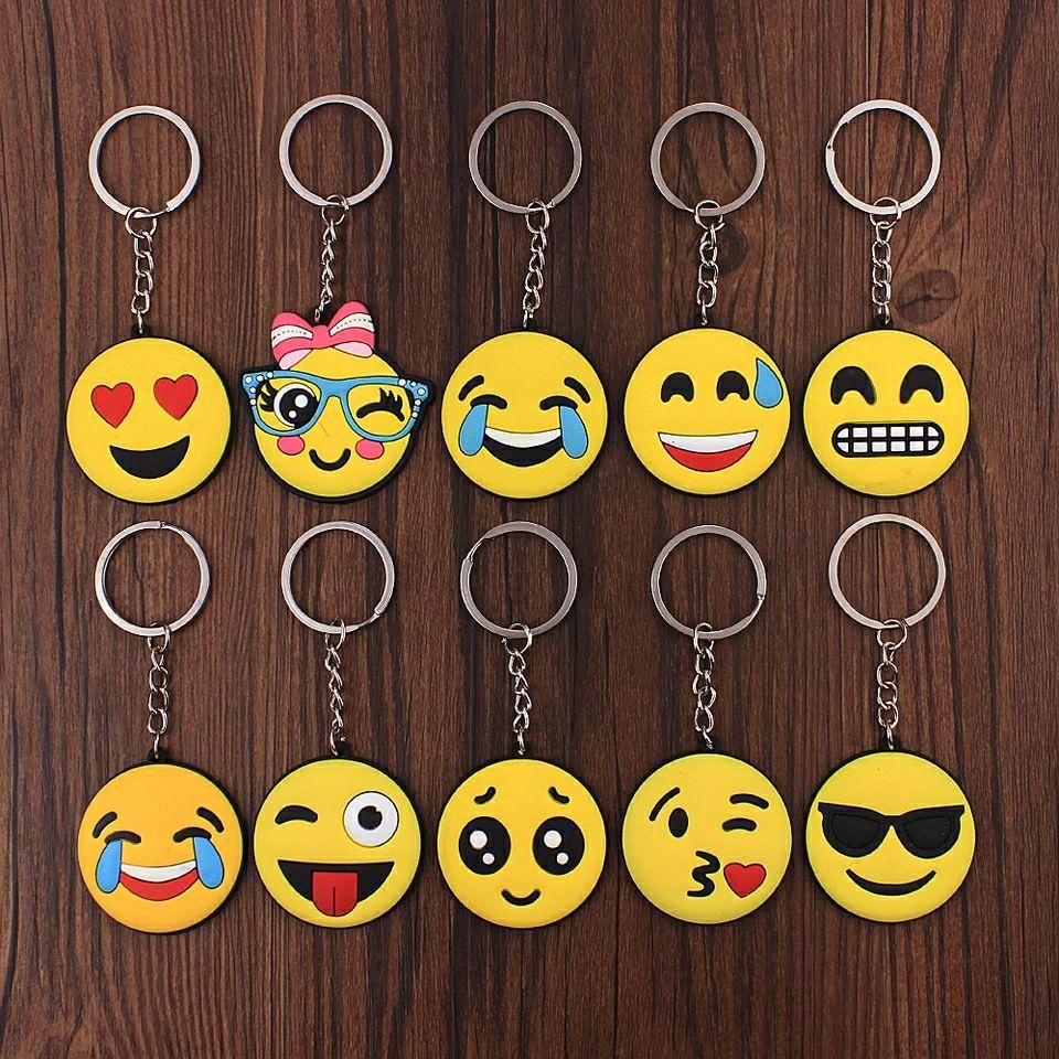 Llaveros emoji casi regalados!!!