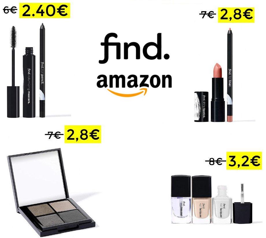 60% en selección de maquillaje Find