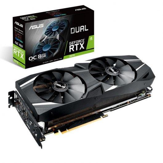 Asus GeForce RTX 2070 DUAL O8G OC 8GB GDDR6