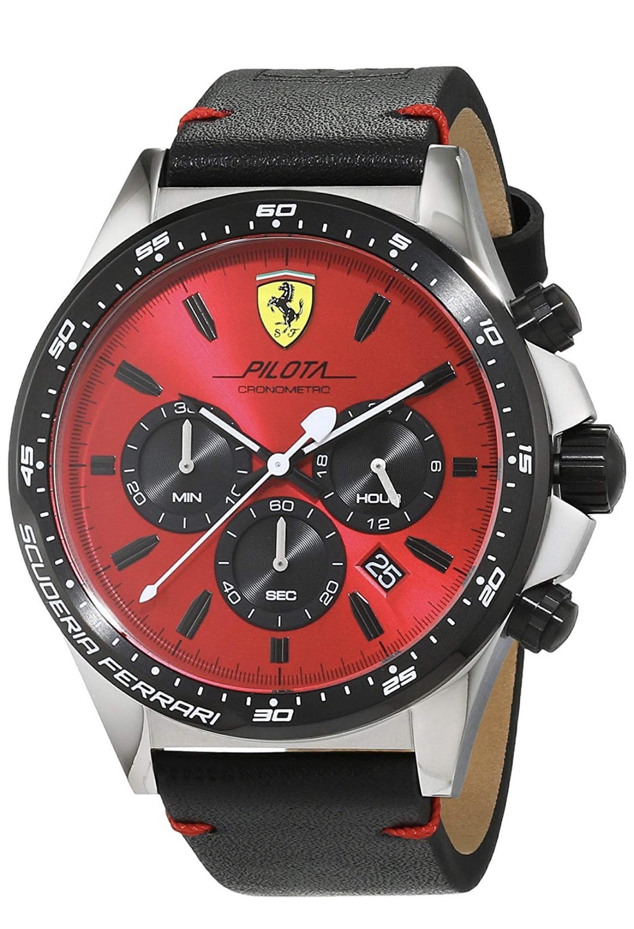 Reloj Scudería Ferrari de acero