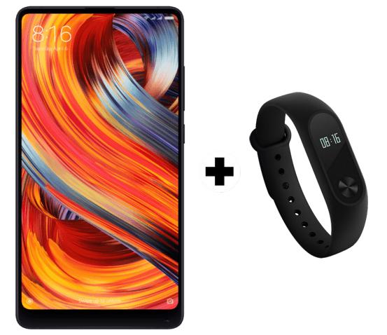 Xiaomi Mi Mix 2 + Xiaomi mi band 2