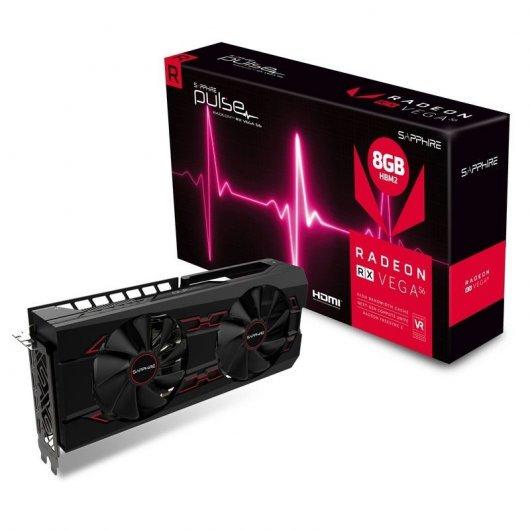 Sapphire Pulse Radeon RX Vega 56 8GB HBM2 REACONDICIONADA