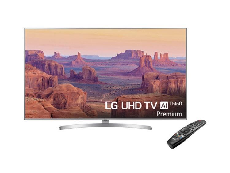 "TV LED 164 cm (65"") LG 65UK7550 4K IPS con NanoCells HDR Smart TV con Inteligencia Artificial (IA)"