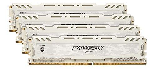 Ballistix Sport LT 64GB Kit (16GBx4) DDR4