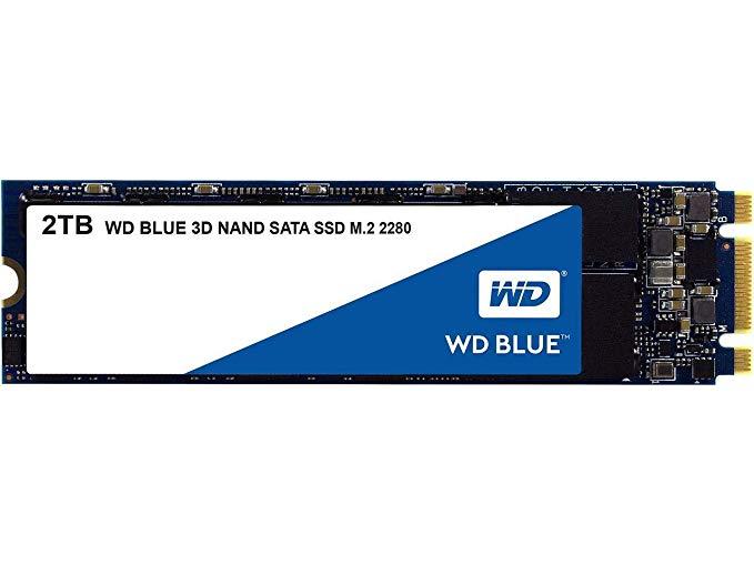 WD Blue 2 TB 3D NAND M.2 SATA