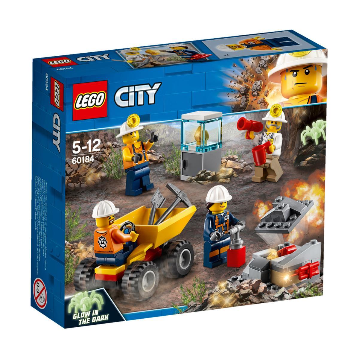 LEGO City - Min: Equipo - 60184