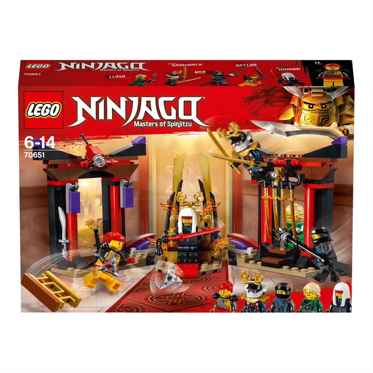 LEGO Ninjago - Duelo en la Sala del Trono - 70651
