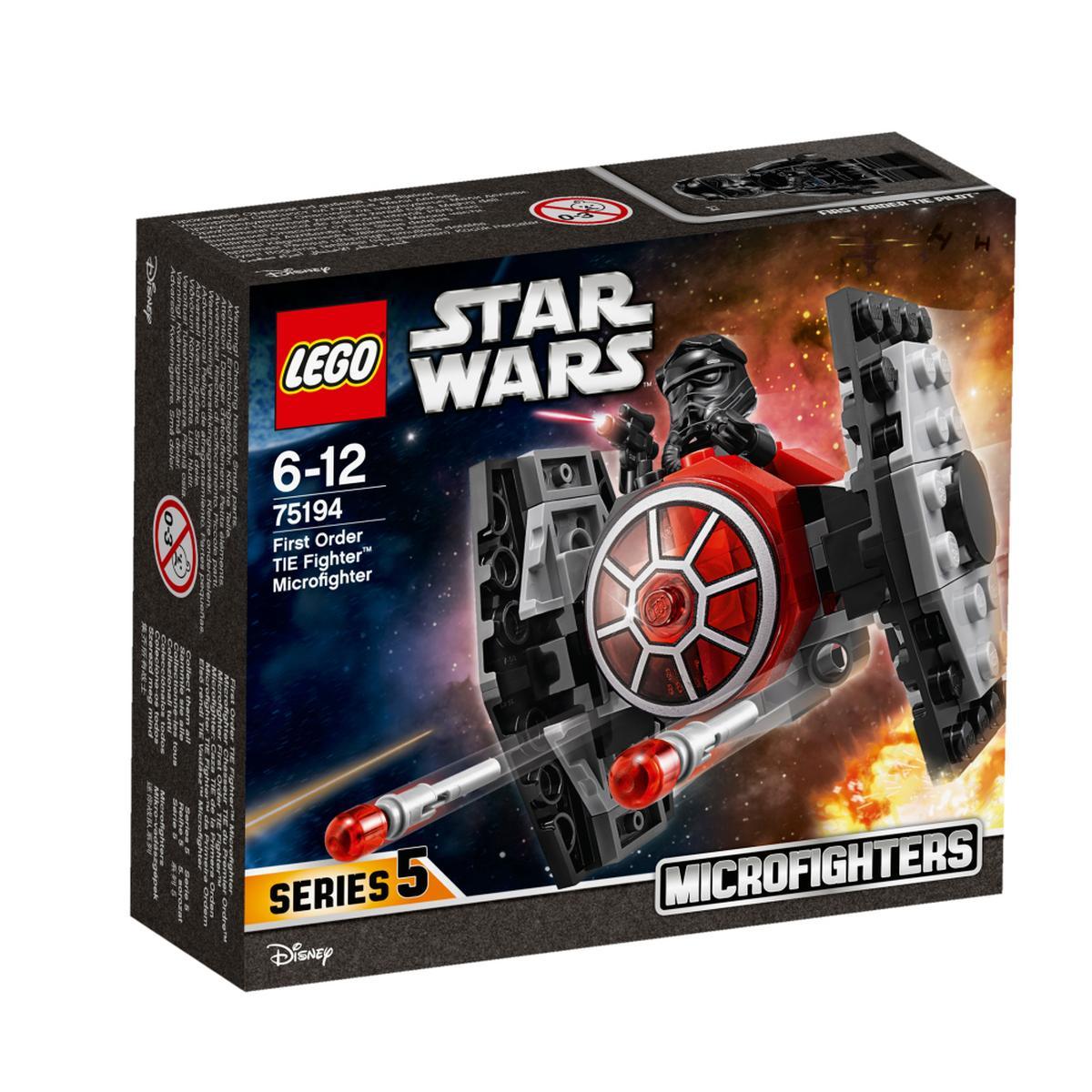 LEGO Star Wars - Microfighter Caza TIE de la Primera Orden - 75194 5,99 €   9,99 €