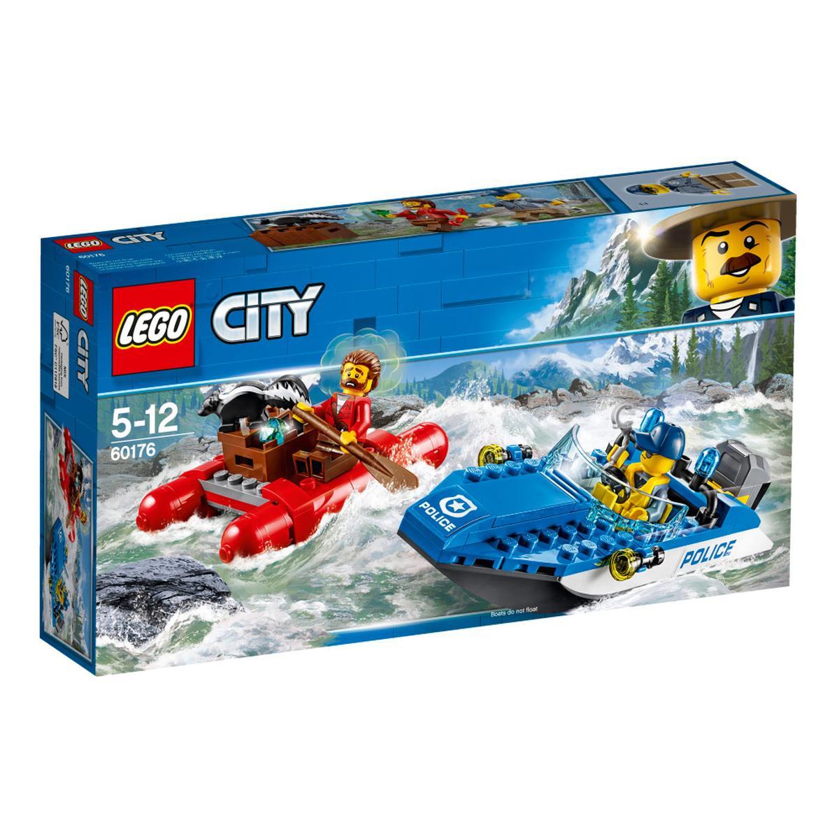 LEGO City - Huida por Aguas Salvajes - 60176