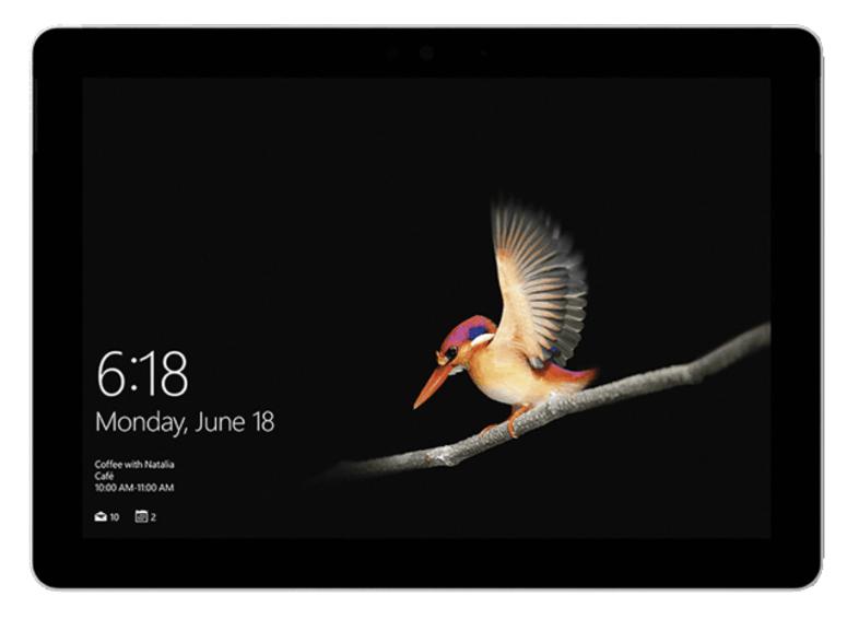 "Convertible 2 en 1 - Microsoft Surface Go, 10"", Intel® Pentium® Gold 4415Y, 8 GB RAM, 128 GB SSD,"