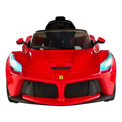 RASTAR- Coche batería RC Ferrari LaFerrari de 12V, 2.4G (ColorBaby 85242)