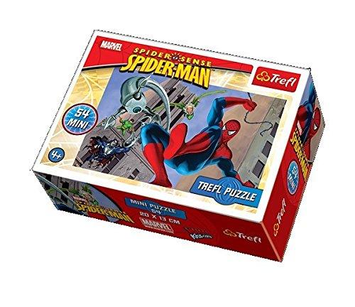 Mini puzzle Spiderman de 54 piezas