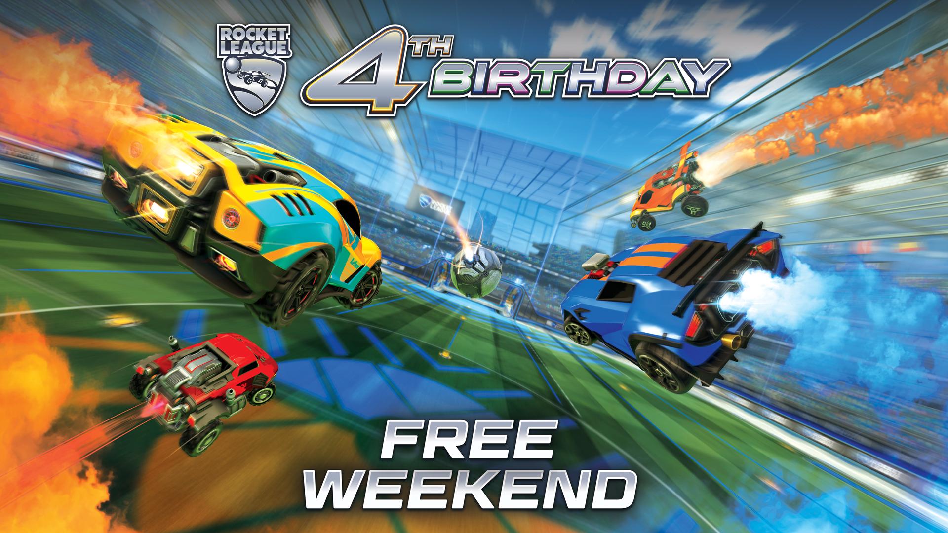 Rocket League FREE weekend