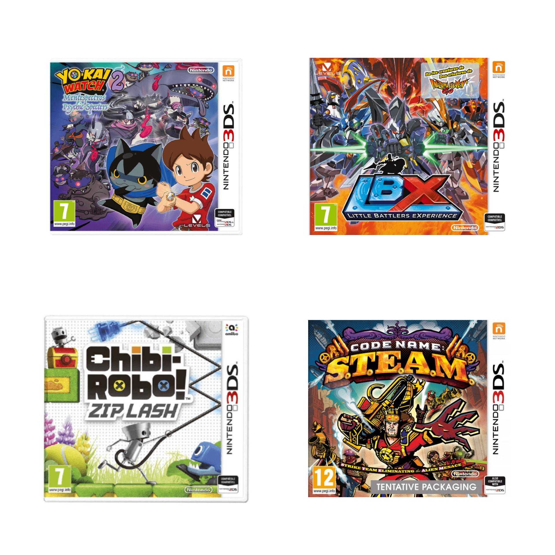 Juegos de Nintendo 3DS por 2.99€