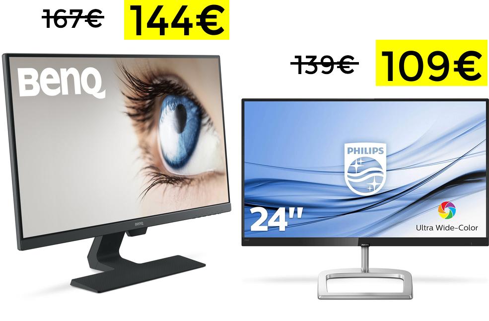 "Monitor Benq 27"" IPS solo 144€"