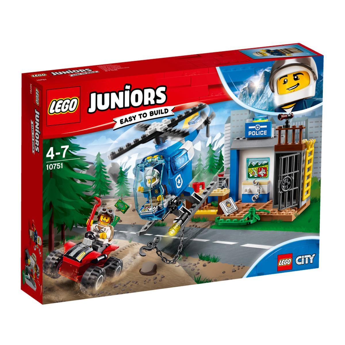 LEGO Junior - Persecución Policial en la Montaña y más modelos con descuento, envios gratis sin minimo los dias 10 y 11