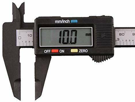 Calibrador electrónico LCD micrómetro