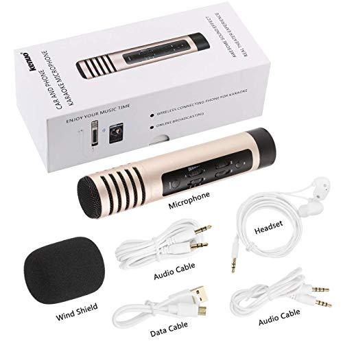 Karaoke Micrófono Inalámbrico Bluetooth 60% descuento