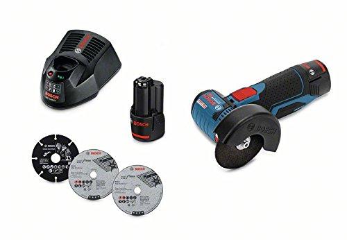 Amoladora Bosch + 2 baterías solo 152€