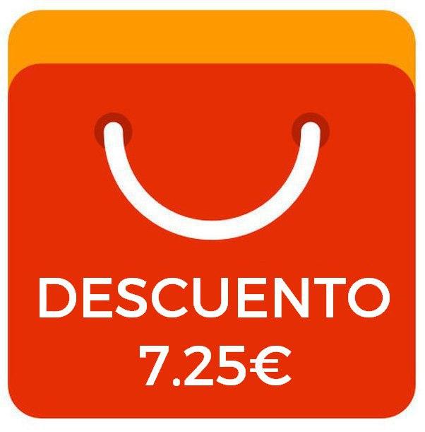 Cupón 7.25€ pedidos +50€ [Excepto Plaza]