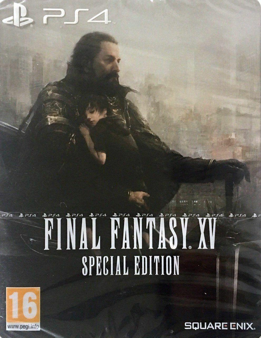 Final Fantasy XV PS4 Steelbook Edition (Importación Alemana)