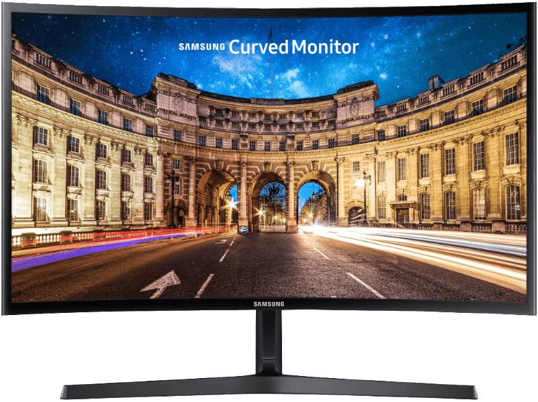 "Monitor Samsung LC24F396, 24"", Curvo, Full HD, 4ms"