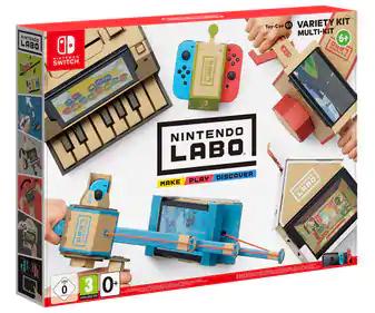 Nintendo Labo Kit Variado (Excelente regalo para impulsar la creatividad de tus hijos)
