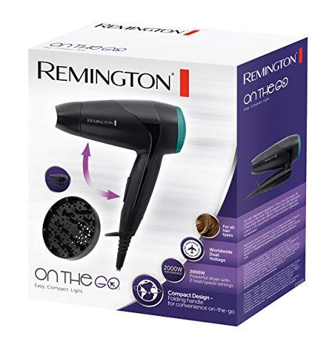 Remington D1500 - Secador de pelo de viaje