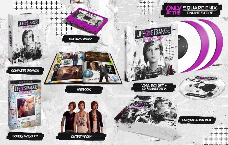 Life is Strange: Before the Storm Edición Limitada - PS4 y Xbox One