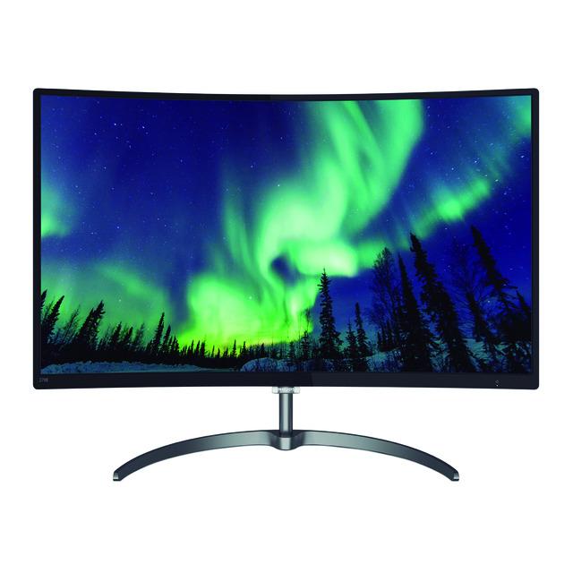 """Monitor PC Curvo 68,58 cm (27"""") Philips 278E8QJAB Full HD y FreeSync"""