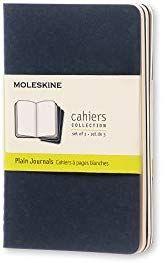 Moleskine CH213 - Set de 3 cuadernos