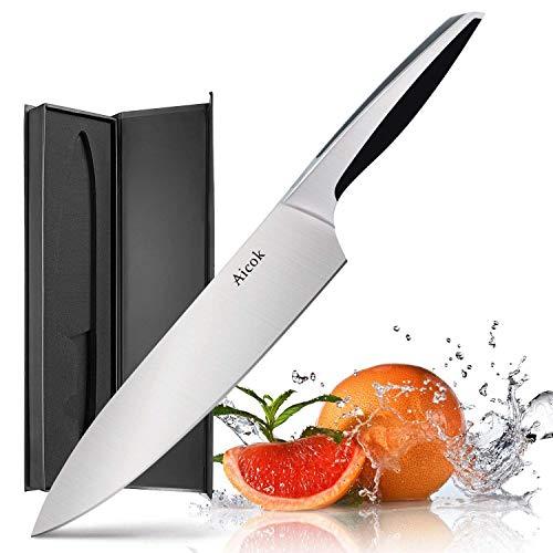 Cuchillo Chef 20cm Acero Inox solo 7.9€