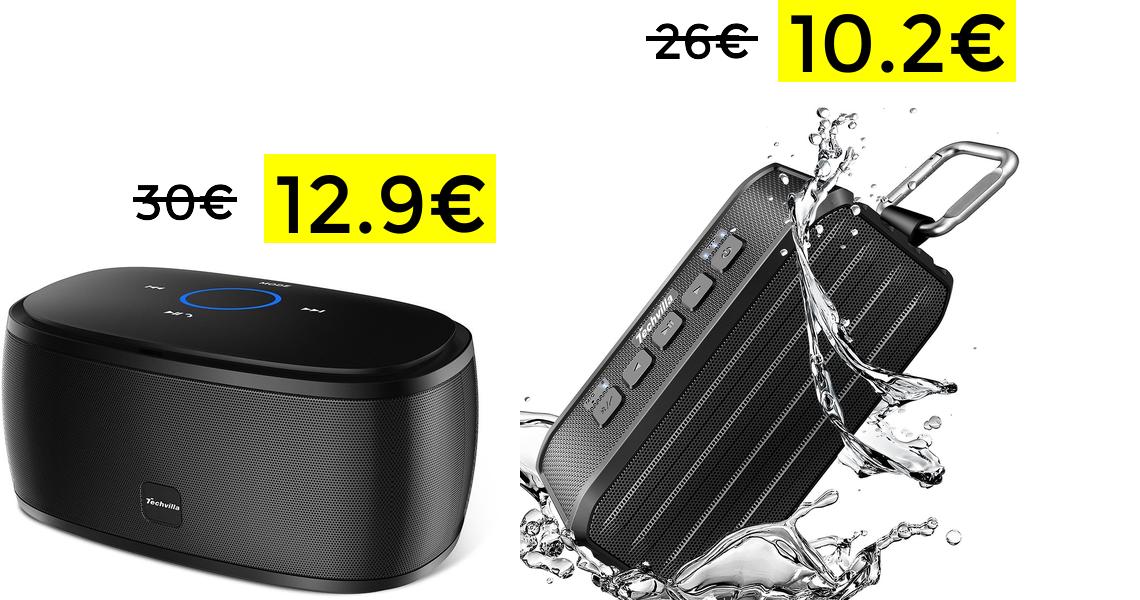 Altavoz Bluetooth 10W solo 12.9€