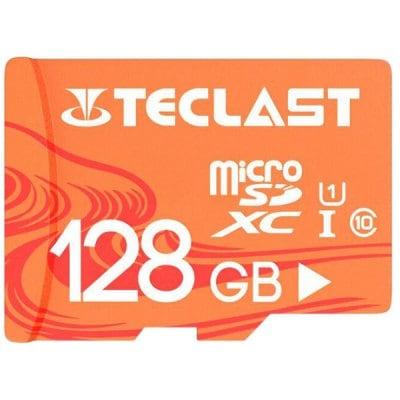 Teclast Tarjeta TF / Micro SD de Alta Velocidad Impermeable UHS - 1 U1 - Salmón Claro 128GB