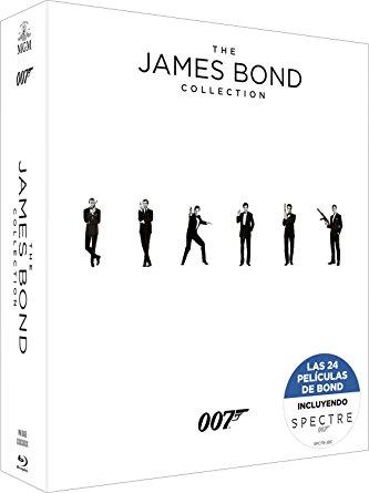Pack Bond: 24 películas (Incluye Spectre)