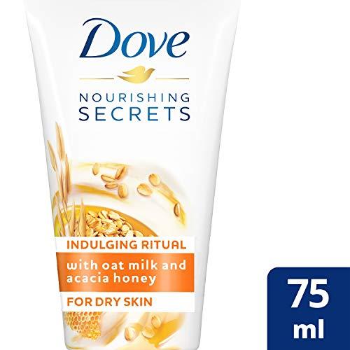 Dove Crema Tratamiento Manos Avena - Pack de 6 x 75 ml (Total: 450 ml)