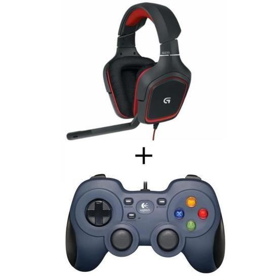 Logitech Gamer Pack G230 Headset + F310 Controller